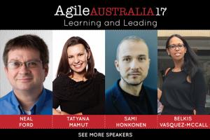 Agile Australia Conference 2017 @ the Hilton, Sydney