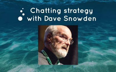 Chatting strategy with Dave Snowden