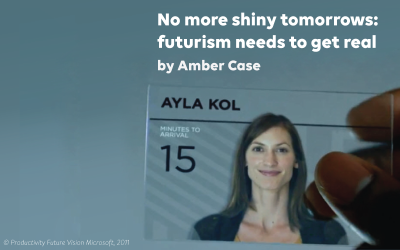 No more shiny tomorrows: futurism needs to get real
